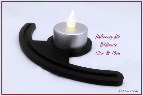 Lithophaniehalter für Kerze